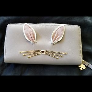 🔥 Kate Spade Hop to It Wallet NWT
